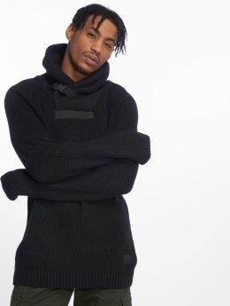 Jack & Jones Пуловер Jcomemphis Shawl Neck черный