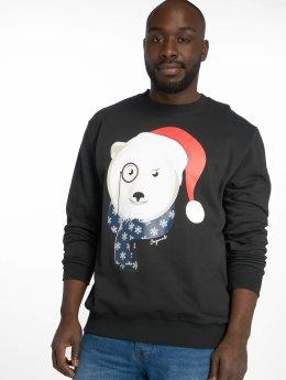 Jack & Jones Пуловер jorKritterxmas черный
