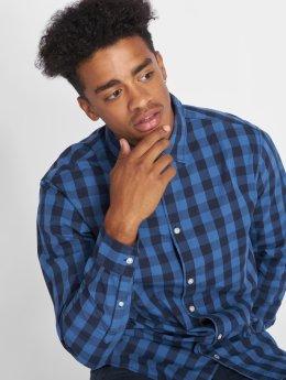 Jack & Jones Рубашка jjeGingham синий