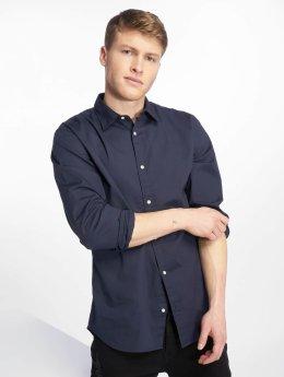 Jack & Jones Рубашка jjePoplin синий