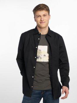 Jack & Jones Рубашка jjePoplin черный