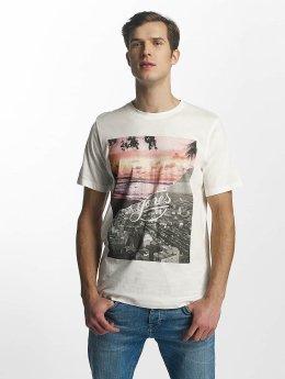 Jack & Jones jorHalf T-Shirt Cloud Dancer Beach