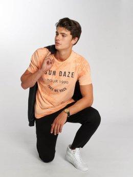 Jack & Jones jorDogtown Crew Neck T-Shirt Neon Peach