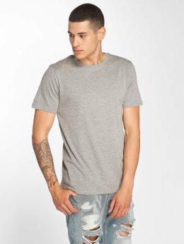 Jack & Jones jjePlain T-Shirt Light Grey Melange