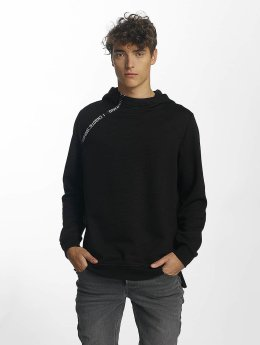 Jack & Jones Bluzy z kapturem jcoKari czarny