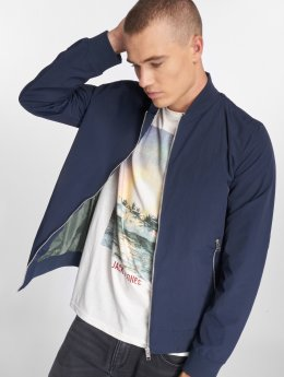 Jack & Jones Bomberová bunda jjePacific modrá