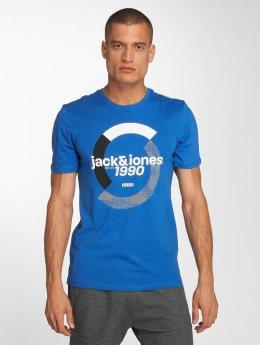 Jack & Jones jcoBoshof Crew Neck T-Shirt Nautical Blue