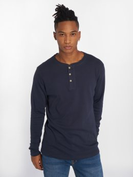 Jack & Jones Camiseta de manga larga jprHenry azul