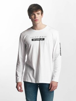 Jack & Jones Camiseta de manga larga jcoScend blanco