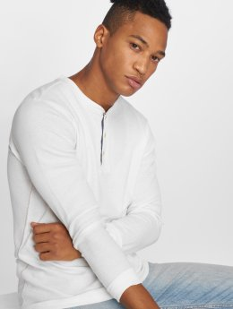 Jack & Jones Camiseta de manga larga jprHenry blanco