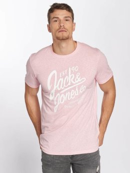 Jack & Jones jorBreezes Crew Neck T-Shirt Coral Blush