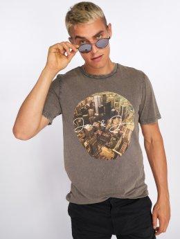 Jack & Jones Camiseta jorCityAcid gris