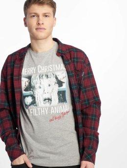 Jack & Jones Camiseta jorKevin Xmas gris