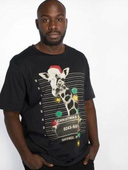 Jack & Jones Camiseta jorPhotoxmas negro