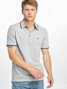 Jack & Jones Camiseta polo jjePaulos gris