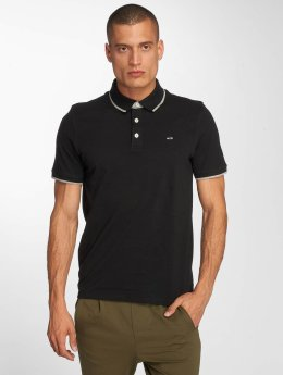 Jack & Jones Camiseta polo jjePaulos negro