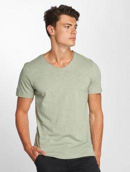 Jack & Jones jorBirch V-Neck T-Shirt Iceberg Green