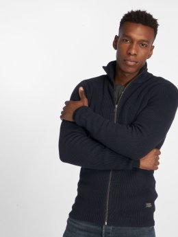 Jack & Jones Cardigan jjeRibbed bleu