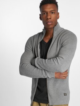 Jack & Jones Cardigan jjeRibbed gray