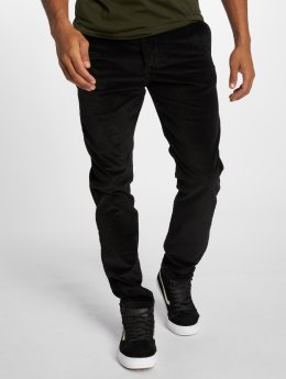 Jack & Jones Cargo Nohavice Jjimarco Jjcorduroy Akm 594 Black Ltd èierna