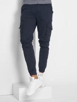 Jack & Jones Cargo pants Jjipaul Jjflake blue