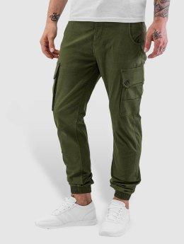 Jack & Jones Cargo pants jjiPaul jjWarner olivový