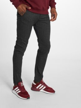 Jack & Jones Chino Jjimarco Jjcharles Akm 592 Check Dar Sts grijs