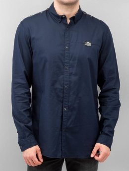 Jack & Jones Hemd Victor Plain blau