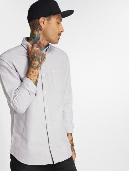 Jack & Jones Hemd jjeOxford grau