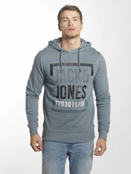 Jack & Jones Hoodie jcoLine blå