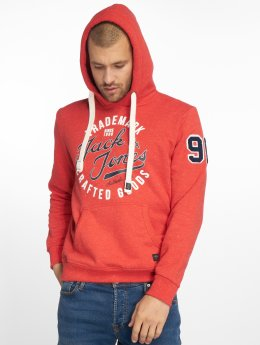 Jack & Jones Hoodies jrcHamps červený