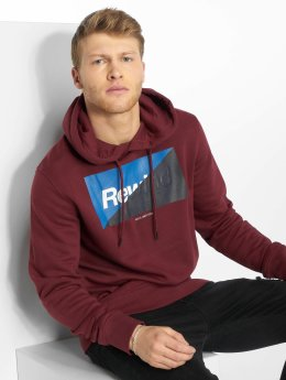 Jack & Jones Hoodies jcoLogan červený