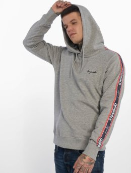 Jack & Jones Hoodies jorTape šedá