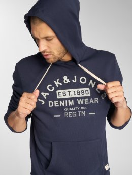 Jack & Jones Hoodies jjeJeans blå