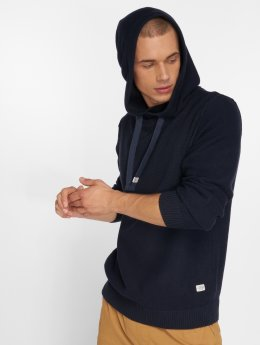 Jack & Jones Hoodies Jorduberry blå