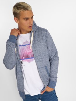Jack & Jones Hoodies con zip jjeSpace blu