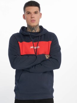 Jack & Jones Hoodies jorJosh modrý