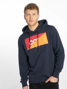 Jack & Jones Hoodies jcoLogan modrý