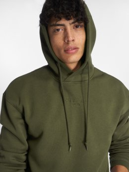 Jack & Jones Hoodies Jortopipop olivový