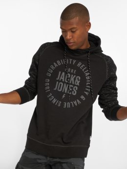 Jack & Jones Hoodies jcoMarko sort