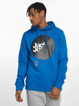 Jack & Jones Hoody jcoLogan blau