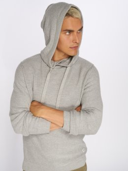 Jack & Jones Hoody Jorduberry grau
