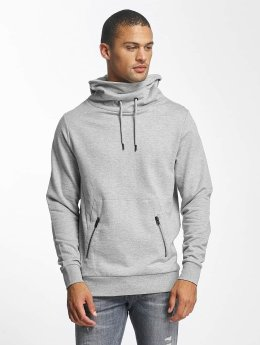 Jack & Jones Hoody jcoDouble grijs