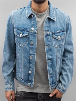 Jack & Jones Jeansjacken jjiAlvin blau