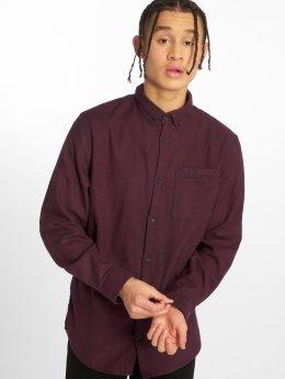 Jack & Jones Koszule Jcotower czerwony