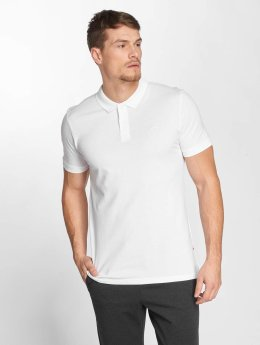 Jack & Jones Koszulki Polo jjeBasic bialy