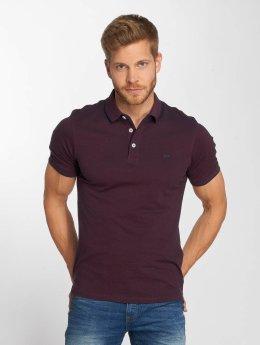 Jack & Jones Koszulki Polo jjePaulos czerwony