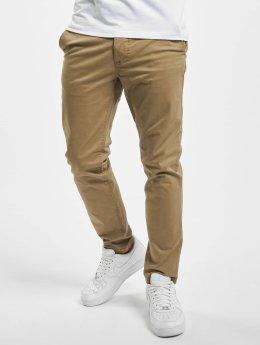 Jack & Jones Látkové kalhoty jjiMarco jjEnzo béžový