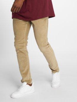Jack & Jones Látkové kalhoty Jjimarco Jjcorduroy Akm 594 Aluminum Ltd béžový