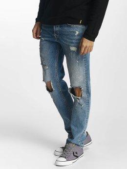 Jack & Jones Løstsittende bukser jjiMike blå